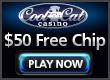 CoolCat Casino- $50 Free Chip (a)